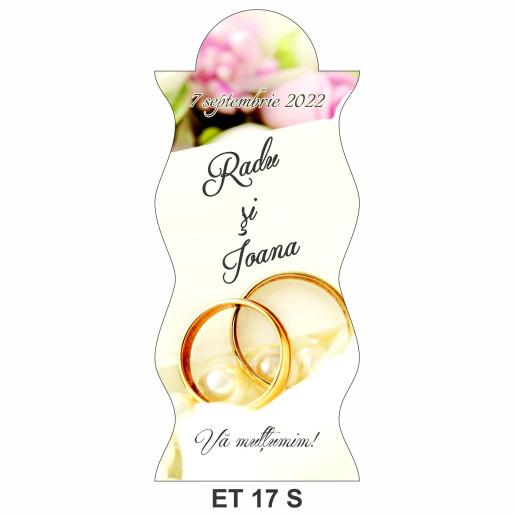 Eticheta pentru sticla ET 17 S