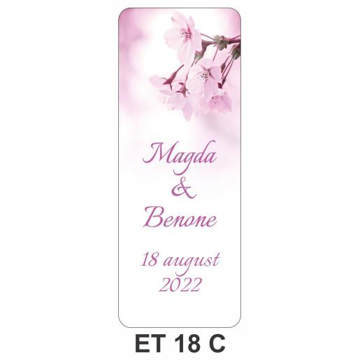 Eticheta pentru sticla ET 18 C