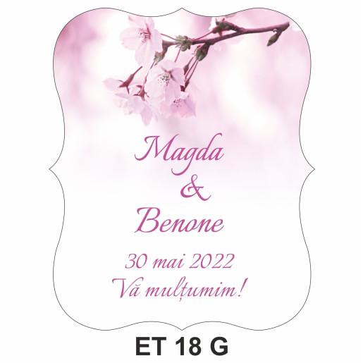 Eticheta pentru sticla ET 18 G