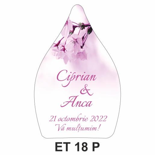 Eticheta pentru sticla ET 18 P
