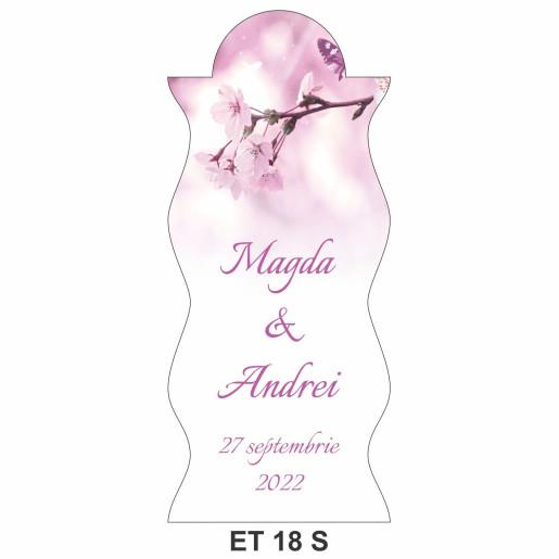 Eticheta pentru sticla ET 18 S