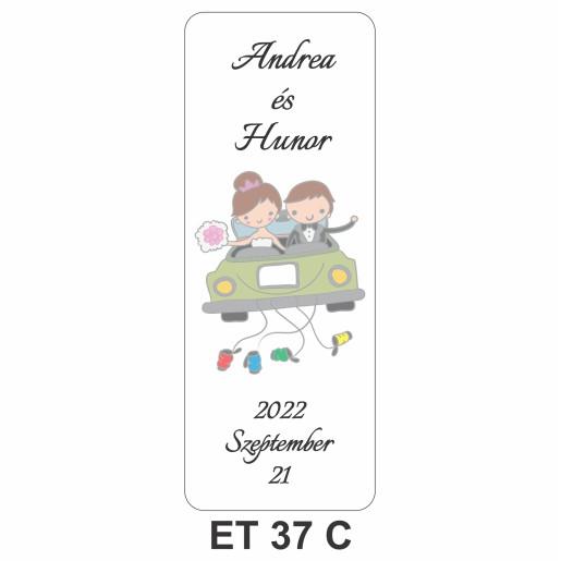 Eticheta pentru sticla ET 37 C
