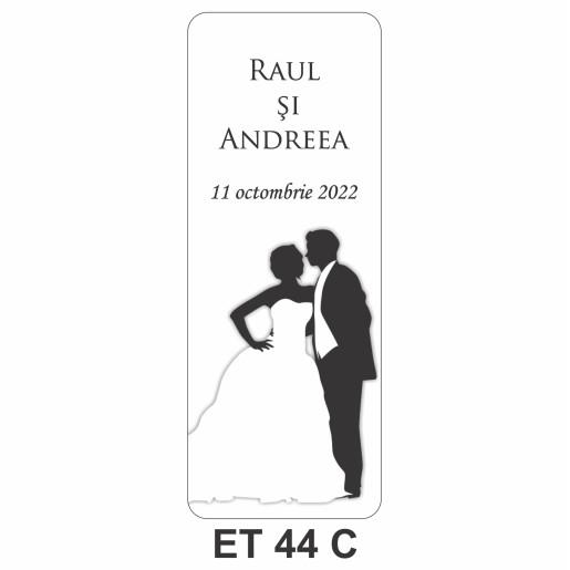Eticheta pentru sticla ET 44 C