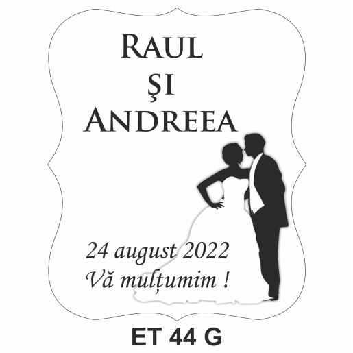 Eticheta pentru sticla ET 44 G