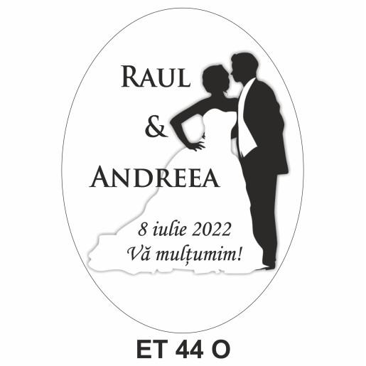 Eticheta pentru sticla ET 44 O
