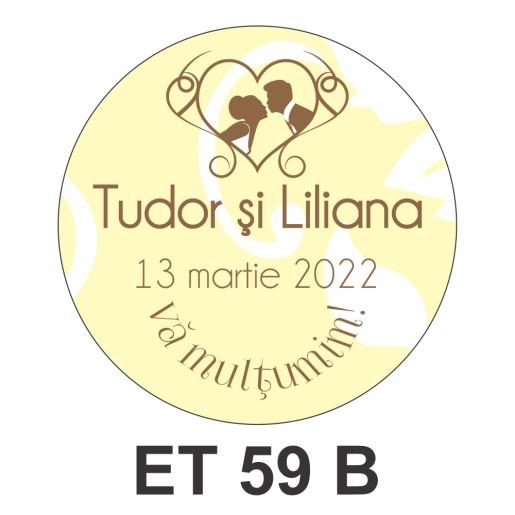 Eticheta mica ET 59 B