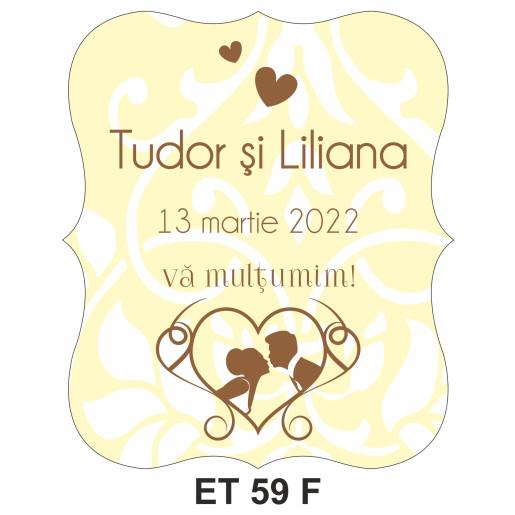 Eticheta pentru sticla ET 59 F