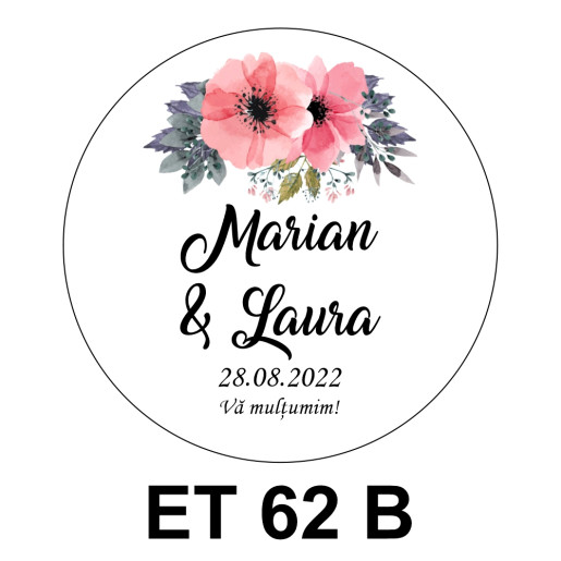 Eticheta mica ET 62 B