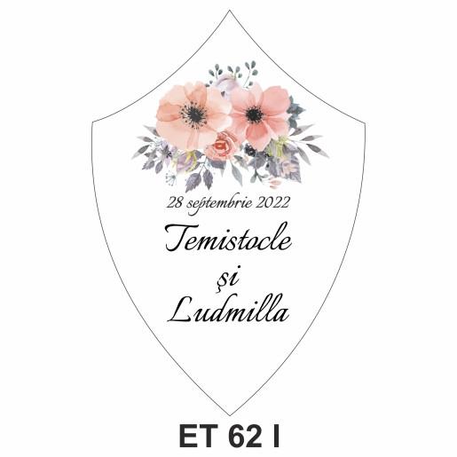Eticheta pentru sticla ET 62 I