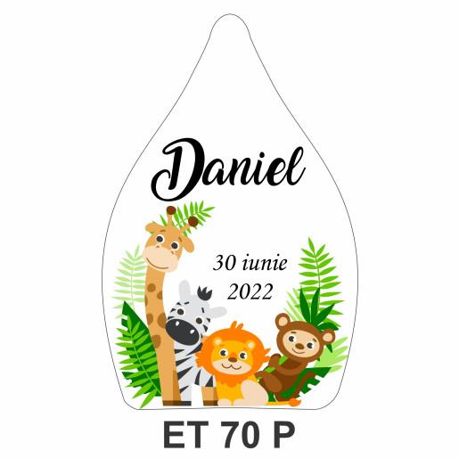 Eticheta pentru sticla ET 70 P