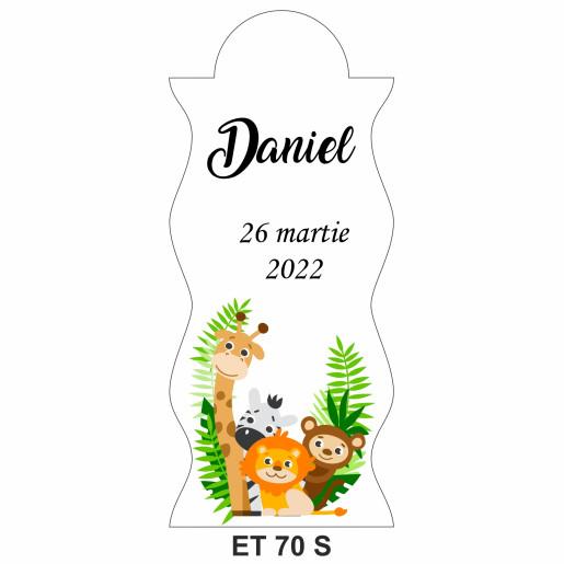 Eticheta pentru sticla ET 70 S