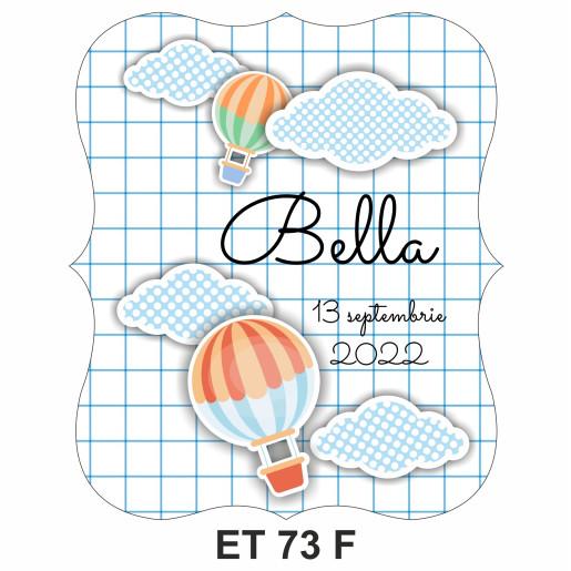 Eticheta pentru sticla ET 73 F