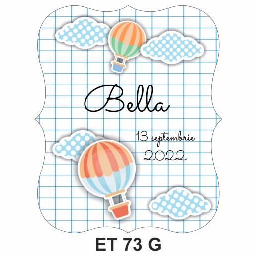 Eticheta pentru sticla ET 73 G