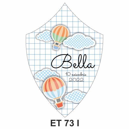 Eticheta pentru sticla ET 73 I