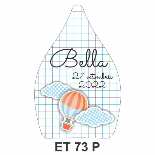 Eticheta pentru sticla ET 73 P