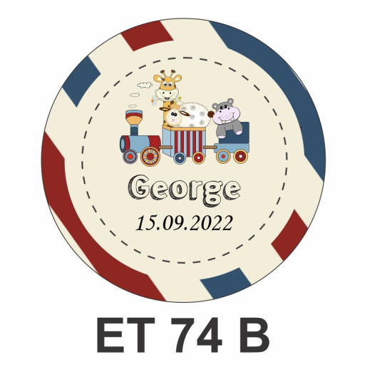 Eticheta mica ET 74 B