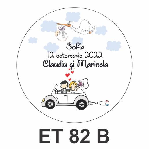 Eticheta mica ET 82 B