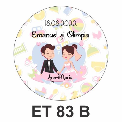 Eticheta mica ET 83 B