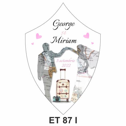 Eticheta pentru sticla ET 87 I