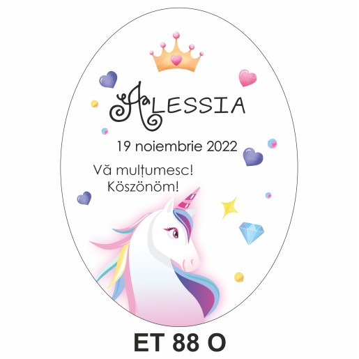 Eticheta pentru sticla ET 88 O