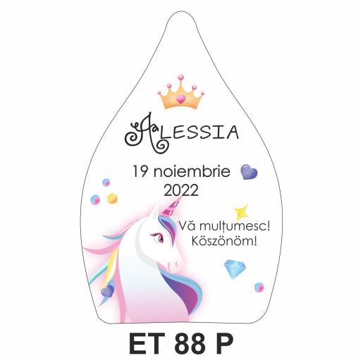 Eticheta pentru sticla ET 88 P