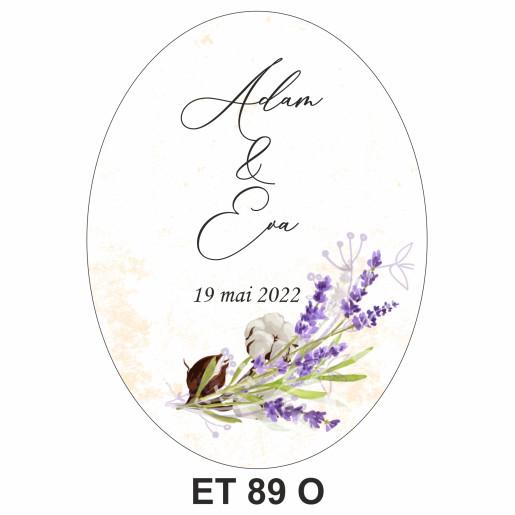 Eticheta pentru sticla ET 89 O