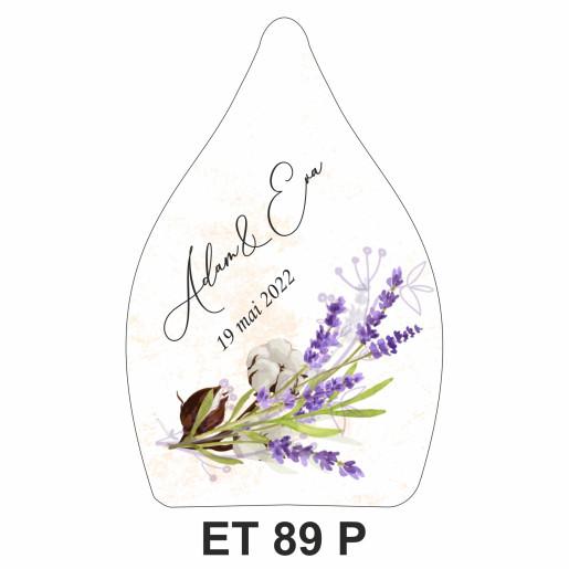 Eticheta pentru sticla ET 89 P