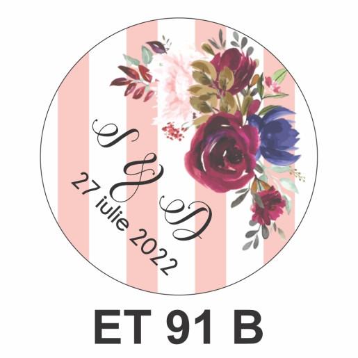 Eticheta mica ET 91 B