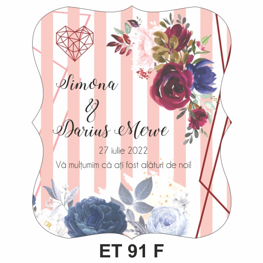 Eticheta pentru sticla ET 91 F