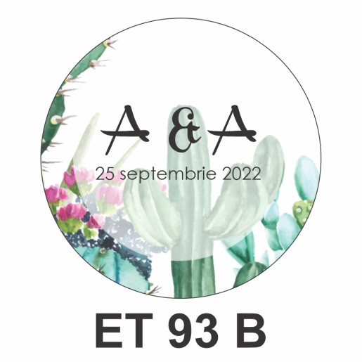Eticheta mica ET 93 B