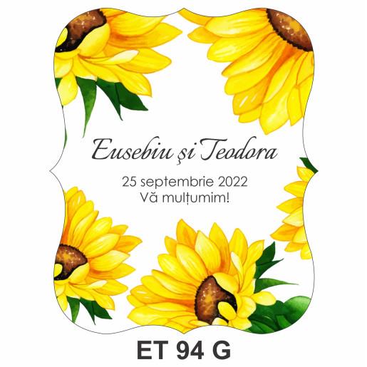 Eticheta pentru sticla ET 94 G