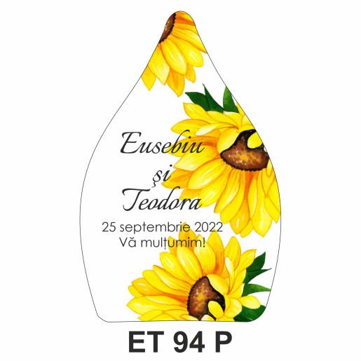 Eticheta pentru sticla ET 94 P