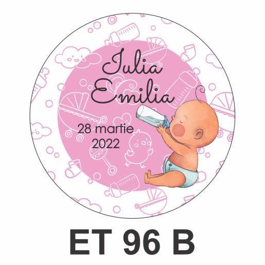 Eticheta mica ET 96 B