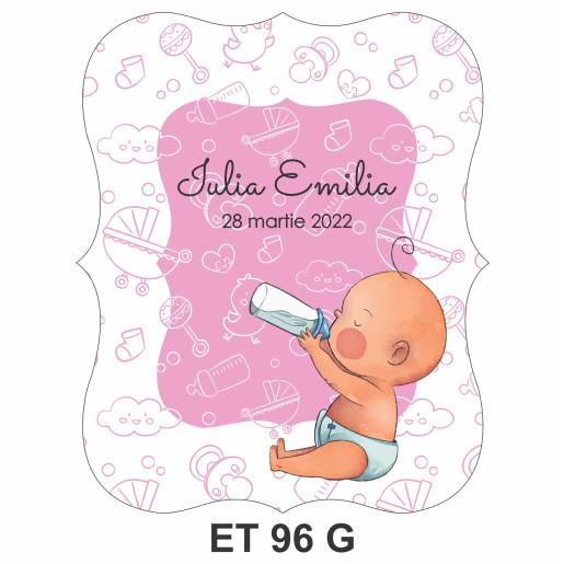 Eticheta pentru sticla ET 96 G
