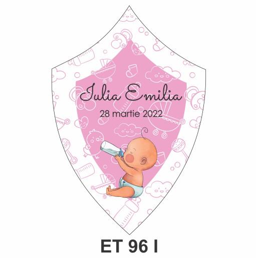 Eticheta pentru sticla ET 96 I