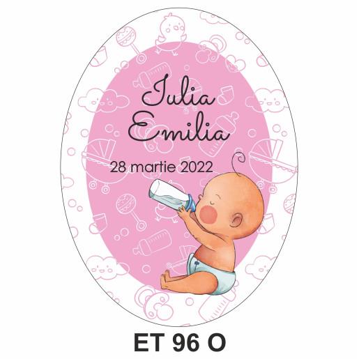 Eticheta pentru sticla ET 96 O