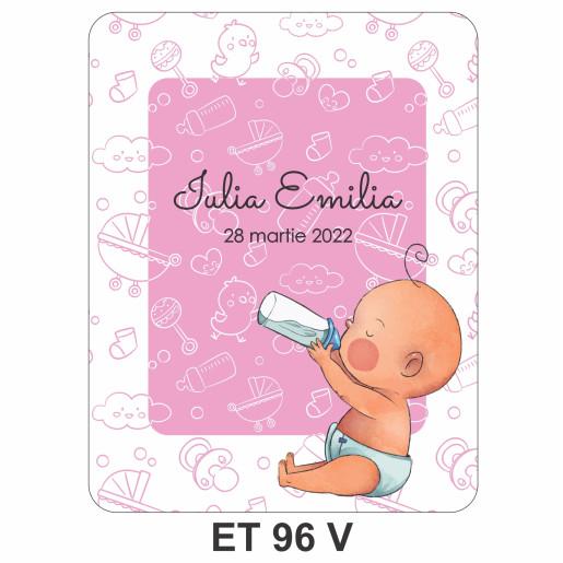 Eticheta pentru sticla ET 96 V