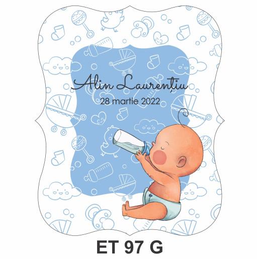 Eticheta pentru sticla ET 97 G