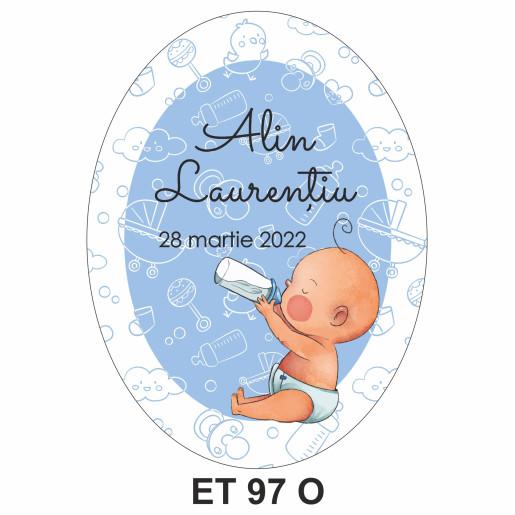Eticheta pentru sticla ET 97 O