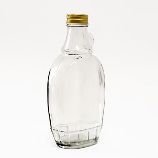 Sticla marturii 250 ml Butoias aplatizat
