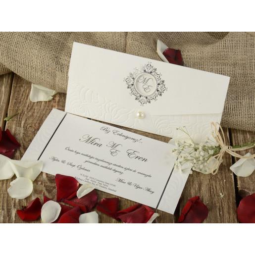 Invitatie de nunta baroc 16201