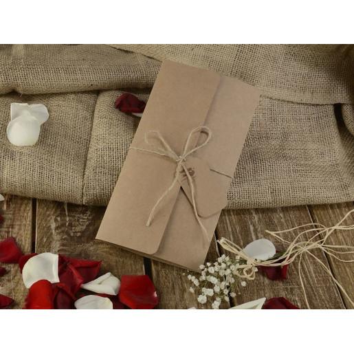 Invitatie vintage cu tema florala 16207 ARMONI