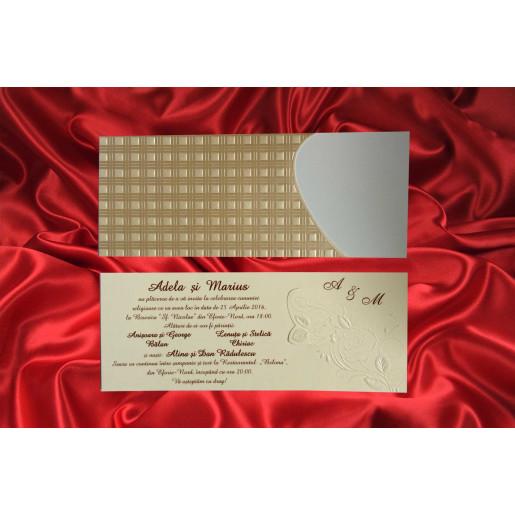 Invitatie de nunta 1654 BEST