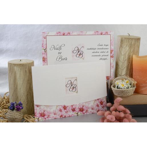 Invitatie cu tema florala 17103 ARMONI