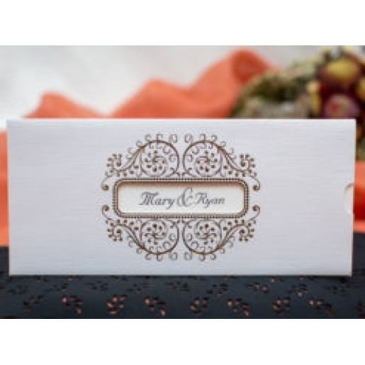 Invitatie de nunta eleganta 220