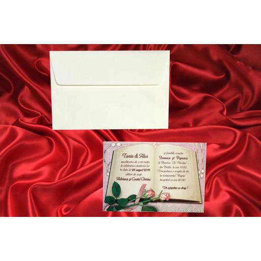 Invitatie de nunta 2252 BEST