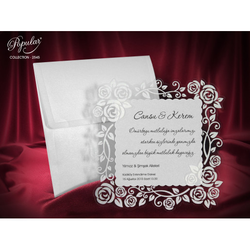 Invitatie de nunta 2545