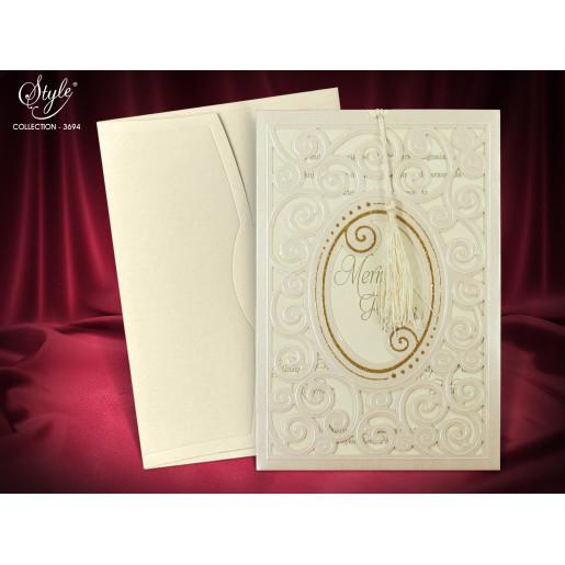 Invitatie de nunta  eleganta 3694 SEDEF