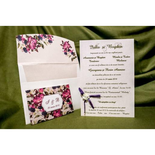 Invitatie de nunta 4012 BUKET-BEST