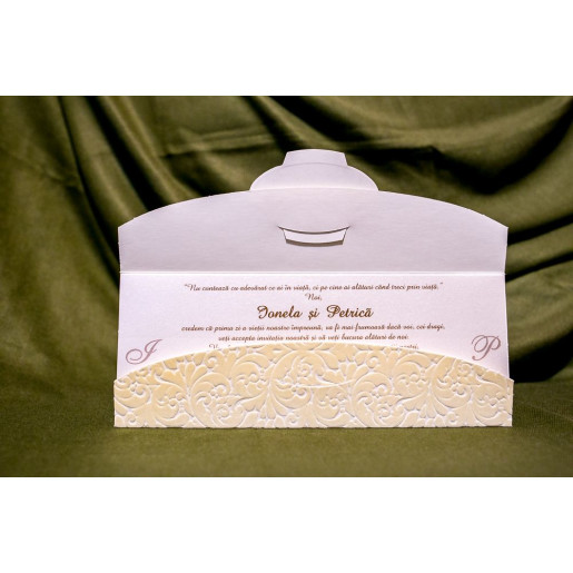 Invitatie de nunta 4017 BUKET-BEST